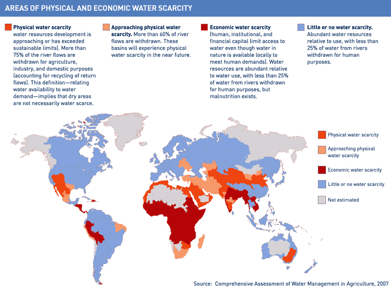 water-shortage-in-the-world